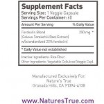 Always Best Forskolin 250mg with 20 in Body Maintenance at www.SupplyFinders.com