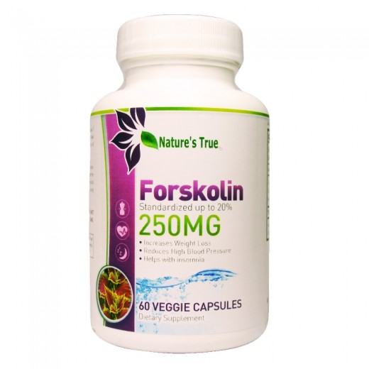 Forskolin 250mg with 20%